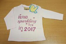 personalised long sleeved newborn t-shirt