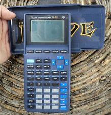 Texas Instruments TI-81 Graphing Calculator Handheld Battery Working