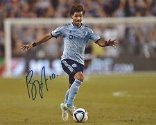 Benny Feilhaber Signed 8x10 Photo Sporting Kansas City Autographed COA