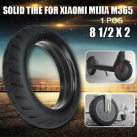 Electric E-Scooter 8.6'' Rubber Solid Tire Wheels Tires For Xiaomi Mijia M365