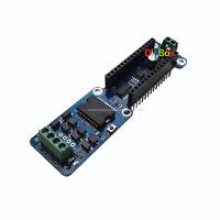 L298P 2A Dual Channel DC Stepper Motor Driver Shield Module For Arduino Nano 3.0