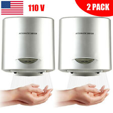 Update 2Pack Automatic Comercial Electric Hand Dryer HighSpeed Bathroom Restroom