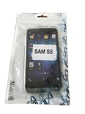 Genuine Samsung Galaxy S5 Protective Back Case Cover - Clear