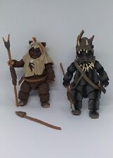 Star Wars The Black Series Ewoks Teebo & Paploo 6'' Action Figures Lot x 2 Loose