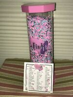 2003 Find it Games - A Contained Adventure Toy Search Tube Puzzle Pink #0014