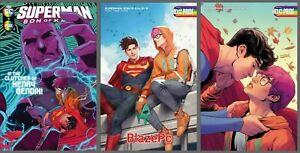Superman Son of Kal-El #5 Cover A B C Variant Set Options Bi Kiss Presale 11/10