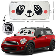Panda Foldable Jumbo Sun Shade SUV Front Window Car Visor Windshield Block Cover