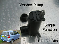 Front Windscreen Washer Pump Fits Honda Jazz 2002 2003 2004 1.4 i-DSI S SE Sport