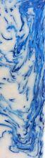 Blue & White Acrylester #36 (1 pc) Inlay/Thin 1/4x1 1/2x5 - 8096