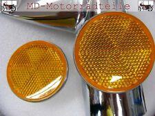 Honda CB 750 Four K2  K3 -  K6 Seitenstrahler Set für Lampenhalter  F - 8