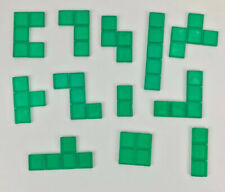 Blokus Game Replacement Pieces Parts 2003 2005 Tiles Educational Insights Green