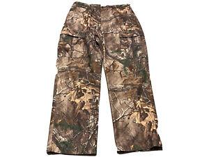 Cabelas Men's Mossy Oak Break Up Cargo Hunting Pants Size 36x31