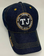 Mexico Tijuana Baseball Cap Hat Blue Denim Adjustable Strap Adult One Size