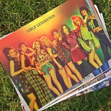 SNSD 12 Poster Girls Generation Bromide Holiday Night 6th Album Photo Sticker CD