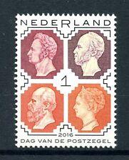 Netherlands 2016 MNH Day of the Stamp 1v Set Stamps