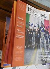 RIVISTA DI CAVALLERIA Associazione nazionale arma di 65 fascicoli Militaria di e