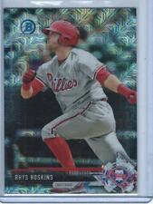 "2017 BOWMAN CHROME MEGA BOX ""MOJO REFRACTOR"" RHYS HOSKINS #BCP117 PHILLIES"