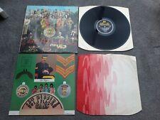 BEATLES Sgt Peppers orig UK stereo vinyl LP VG+/EX+ complete 1/1