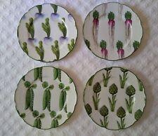 A. Raynaud Villandry Salad Plates - Limoges France - Set of 4 Mint
