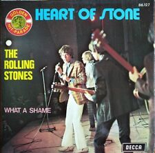 "The Rolling Stones - Heart Of Stone - Vinyl 7"" 45T (Single)"