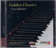 Golden Classics Piano Highlights Zounds Gold CD Neu OVP Sealed Bose Gold Coll. 9
