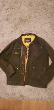 Boys Duke Barbour international waxed jacket. Size XL. Age 11-13