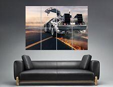DeLorean 02 Zurück in die future Zukunft Wand Plakat groß Format A0