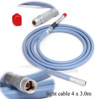 Fiber Optic Light Cable ø4mm X 2.5m Connector Fit for Storz Wolf Endoscope Best