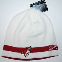Phoenix Coyotes Reebok NHL Hockey Reversible Knit Winter Cap Hat Beanie Toque