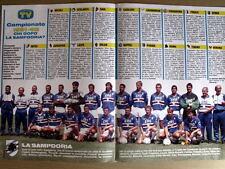 Poster Calendario Sampdoria 1991-92 -28x40 cm [GS3]-48