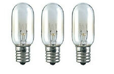 Pack of 3 Bulbs - Microwave Replacement Lamps 40W 130V for Model WB36X10003