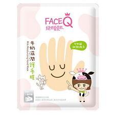 FACEQ FACE Q MILK MOISTURIZING SILKY SOFT HAND MASK KOREA My Beauty Diary NEW