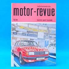 DDR Motor-Revue 12-1984  (tschechoslowakische) Skoda Jawa CZ Tatra II