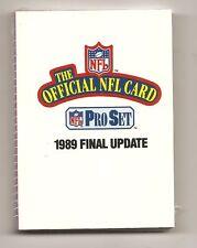 1989 Pro Set Football Factory Sealed Final Update Set  Sterling Sharpe RC