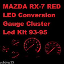 Mazda RX-7 RX7 fd3s 93-95 RED Gauge Cluster LED kit