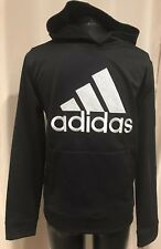 Adidas Youth Pullover Black HoodieSweatshirt Large 14/16 New With Tags