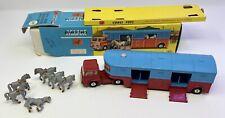 Corgi 1130 Chipperfield Circus Horse Transporter Truck & Horses in Original Box