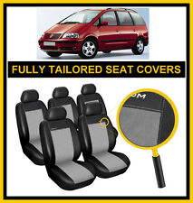 VOLKSWAGEN SHARAN 1995 - 2010  FULLY TAILORED SEAT COVERS  full set LEATHERETTE