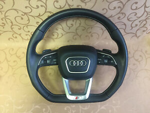 Audi Q5 S Line Sports Multifunction steering wheel 80A419091AF Shift Paddles