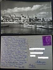 ANTIGUA POSTAL 1958 PALMA DE MALLORCA BALEARES ES JONQUET CLUB NAUTICO CC4203