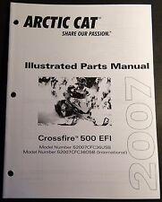 2007 ARCTIC CAT SNOWMOBILE CROSSFIRE 500 EFI PARTS MANUAL P/N 2257-757  (502)