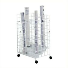 Safco 3175h Tried Wire Roll File With 24 Compartments