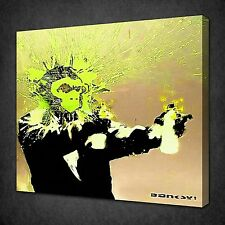BANKSY SELF PORTRAIT CANVAS WALL ART PICTURES PRINT VARIETY OF SIZES FREE UK P&P