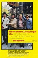 The Hot Rock (1972)-16mm Feature Film-Robert Redford, George Segal