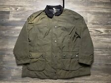Womens BARBOUR Beadnell Waxed Jacket Olive Size USA 18