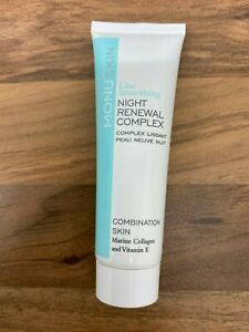 Monuskin Line Smoothing Night Renewal Complex Cream Combination Skin Vegan 30ml