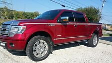 "2004 - 2014 Ford F150 ""PLATINUM STYLE"" Side Stripe"