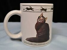 Cat Lover Limited Coffee Tea Mug Brown Mackerel Tabby Siberian & Abyssinian