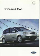 FORD FOCUS C-MAX SALES BROCHURE FEBRUARY 2003