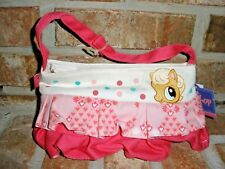 Littlest Pet Shop ruffle PINK HORSE youth Purse, carry bag, case RARE 2008